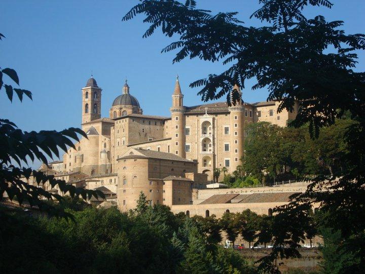 Pallazzo Ducale, Urbino, Marche, ITALY