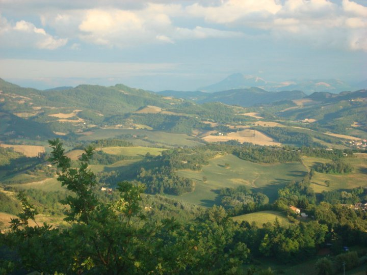Landscapes in Marche in ITALY