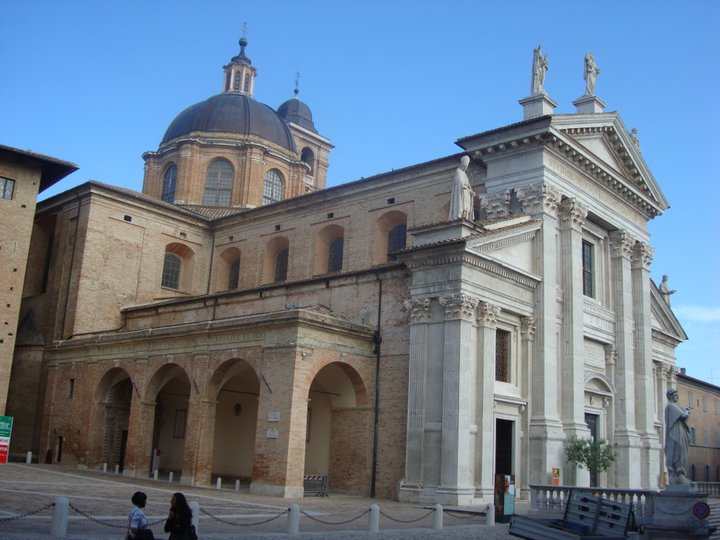 Cathedral in Urbino, Marche, ITALY