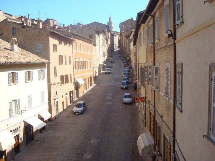 Street in Urbino