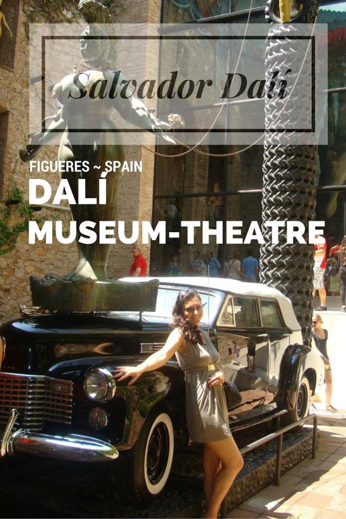 Rainy Taxi by Dali at the Museum in Figueres