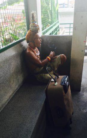 A homeless in Bangkok