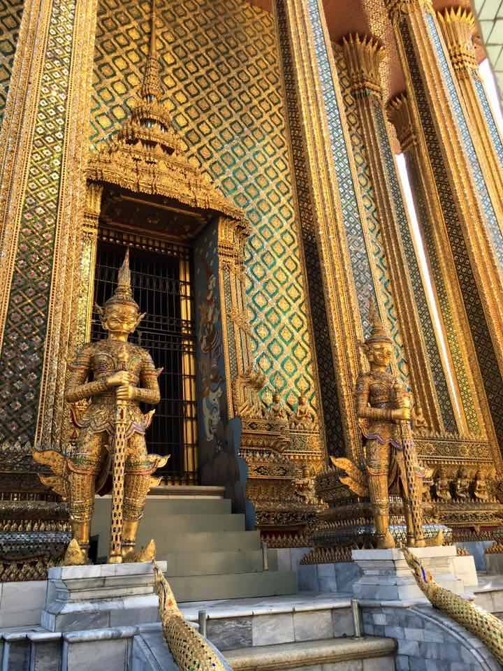 Visiting the Grand Palace complex in Bangkok is one of the top Thailand things to do