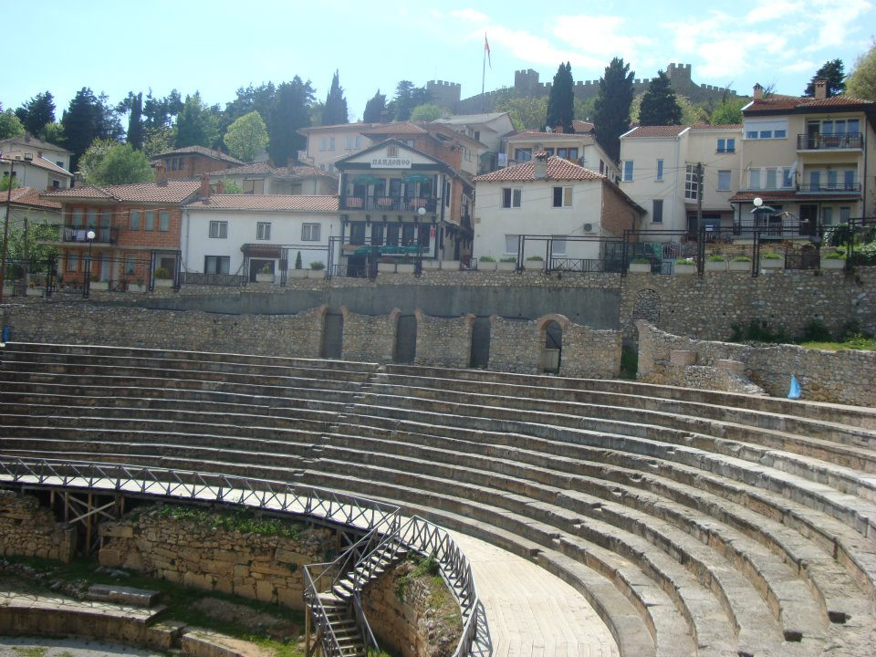 Ancient Ohrid theater
