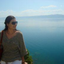 Me on the lake Ohrid 1