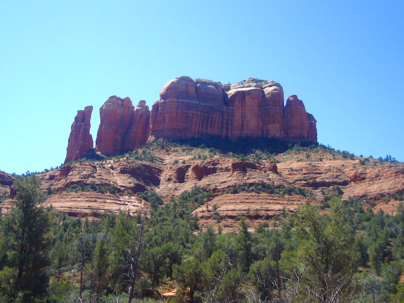 Photo of the Cathedral Rock in Sedona among many incredible Arizona photos proving why you should visit Arizona