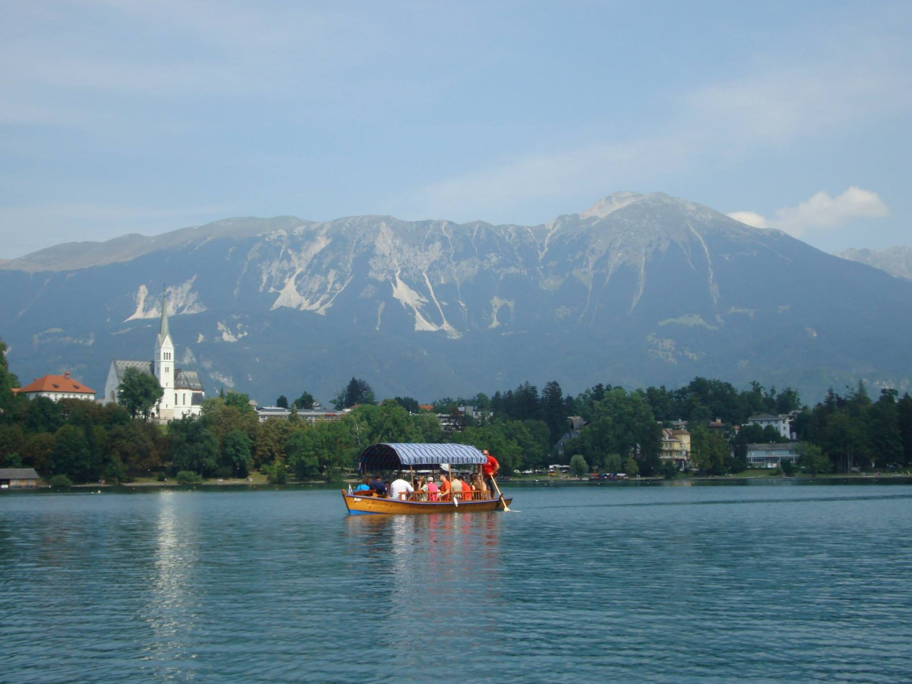 Bled and the Alps