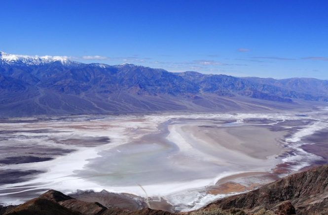 Dantes viewpoint is a Death Valley must see site on any visit to Death Valley from Las Vegas
