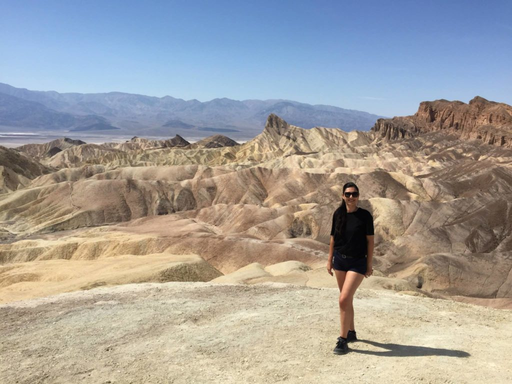 Zabriskie point is a must see Death Valley attraction on any trip to Death Valley from Las Vegas