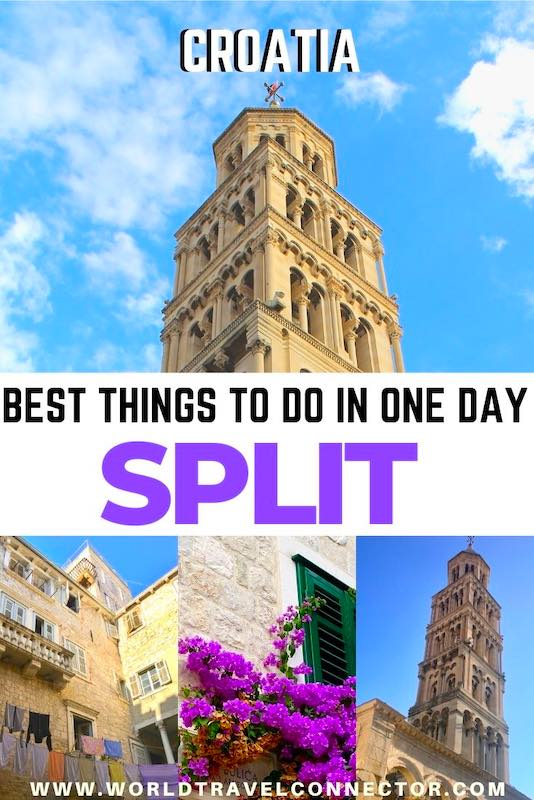 Best things to do in Split in one day I | Croatia Travel Guide | Croatia Itinerary |