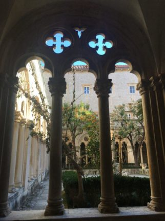 Courtyard of the Dominican monastery