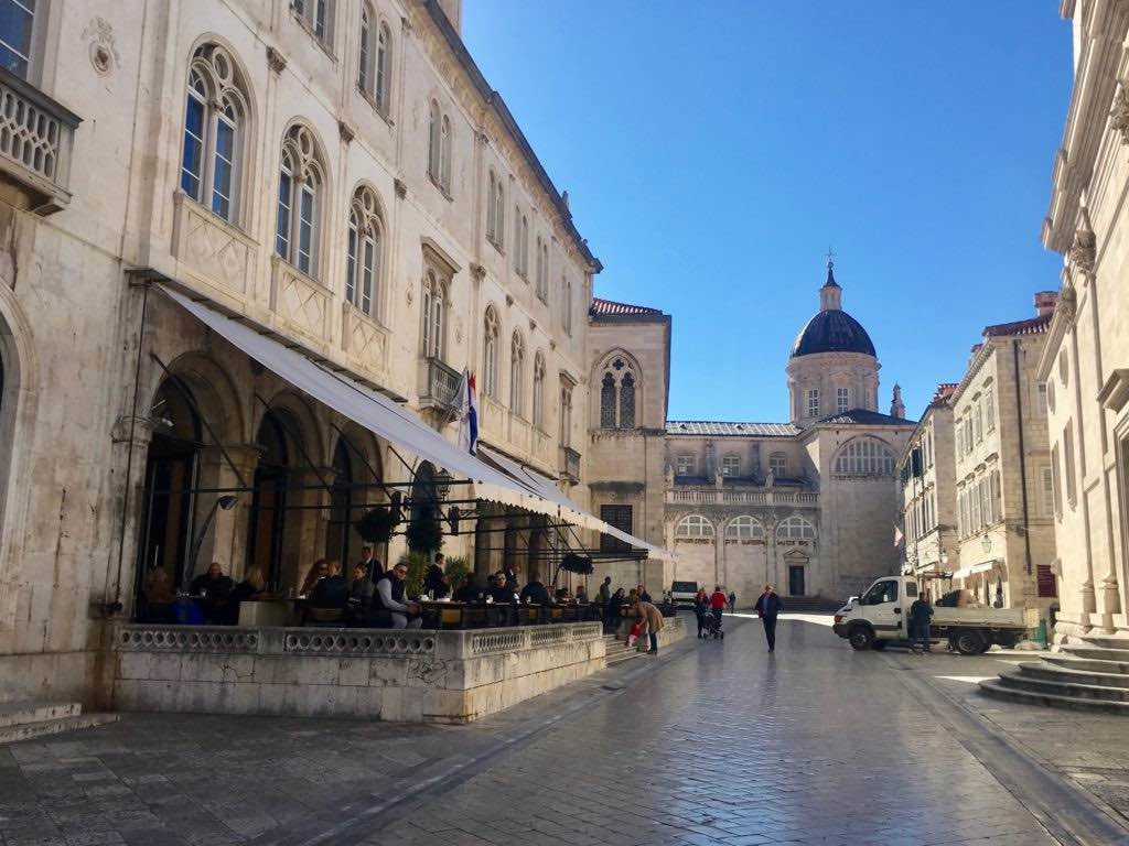 Dubrovnik in winter