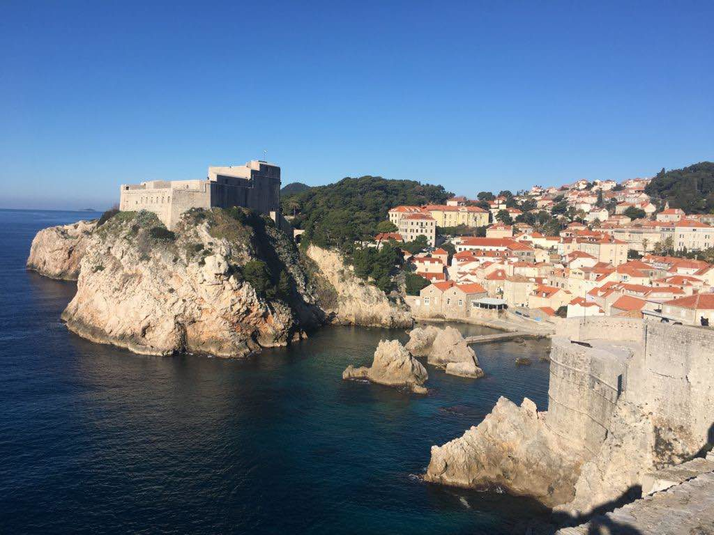winter in Dubrovnik