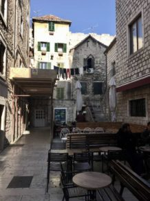 Homes and bars in Split