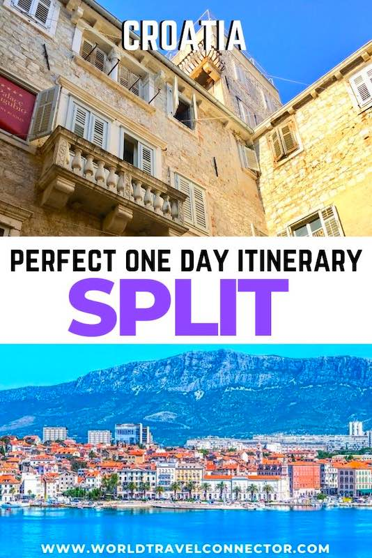 Perfect one day itinerary for Split Croatia