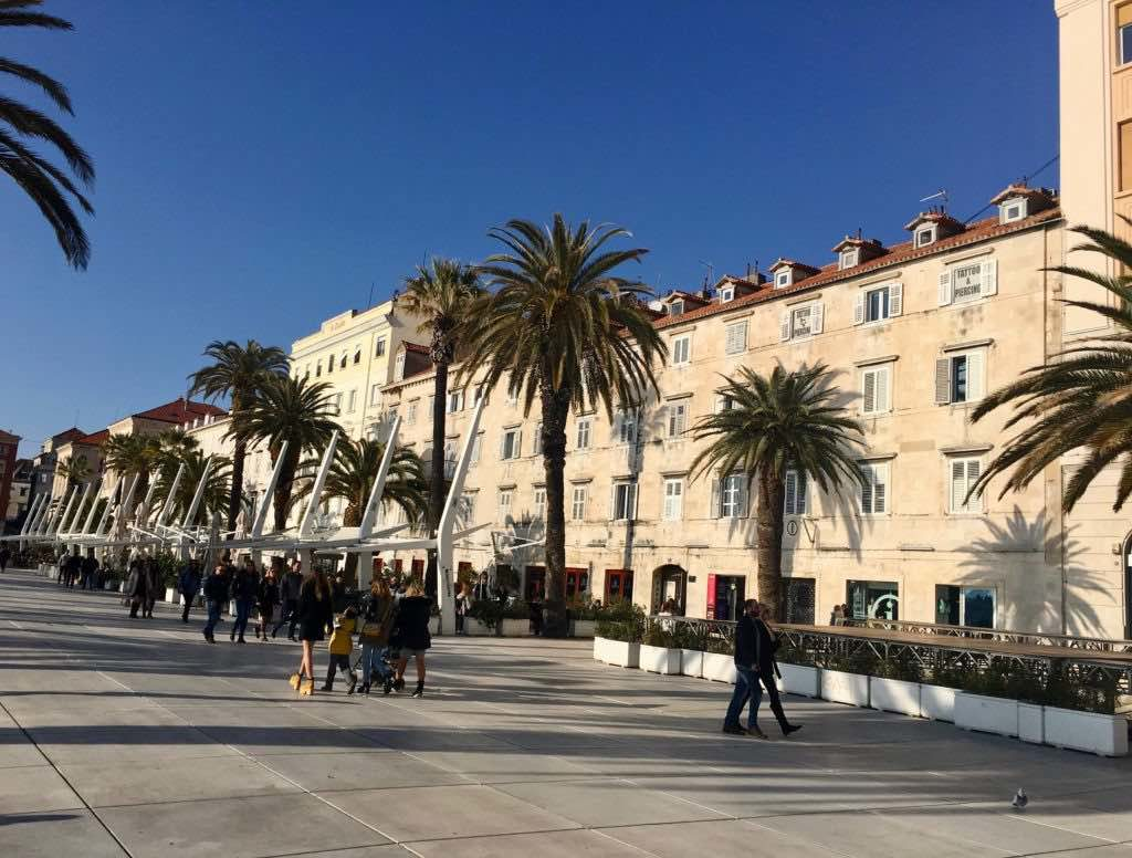 what to see in Split Croatia in one day