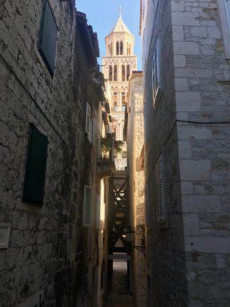 Roman alley in Split