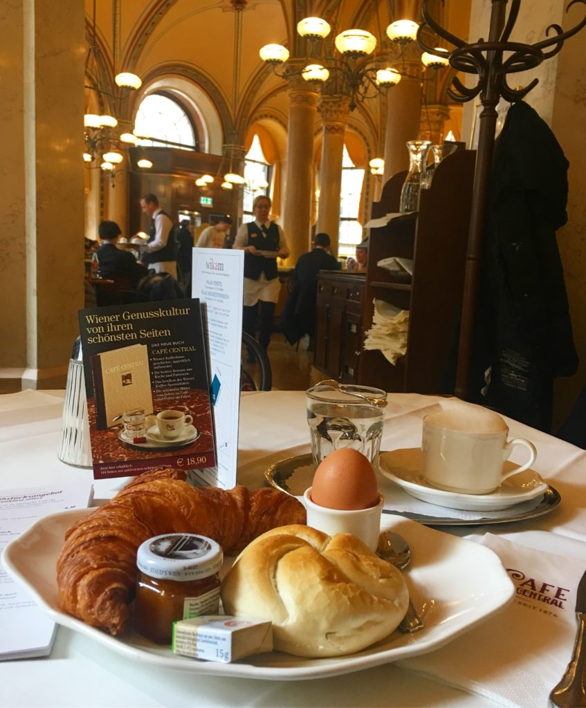 Iconic Central cafe is one of the most famous coffee houses in Vienna