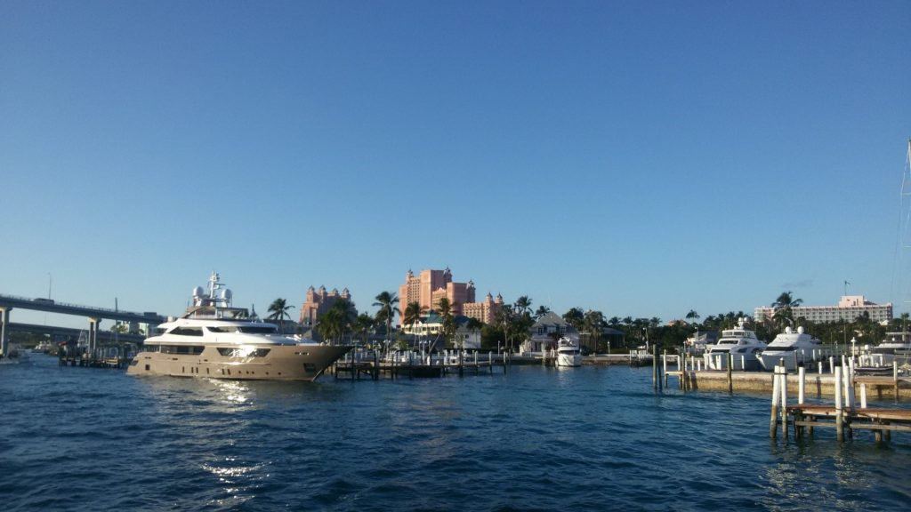 Atlantis in Nassau at Christmas and Bahamas in winter