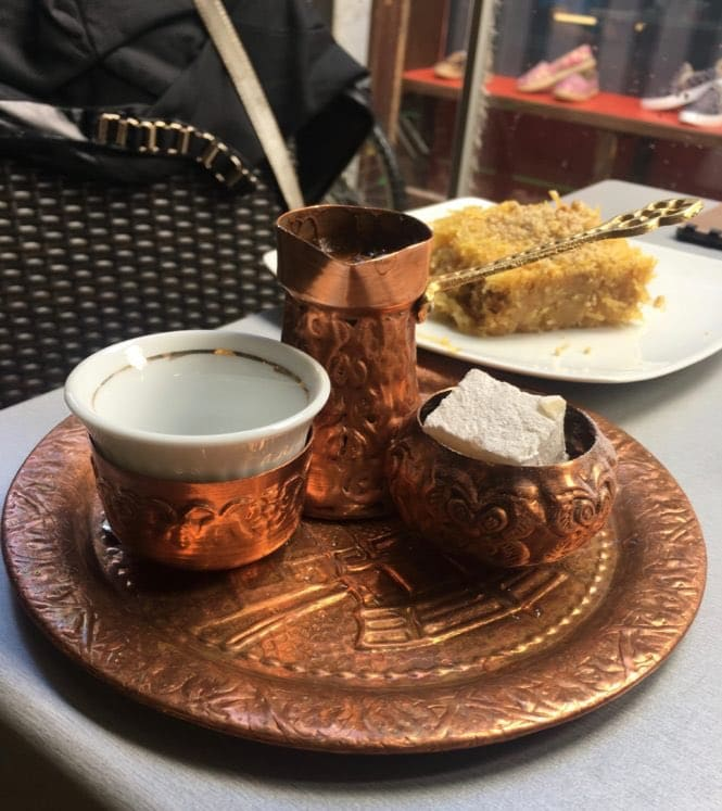 Turkish coffee is often voted the best coffee in the world
