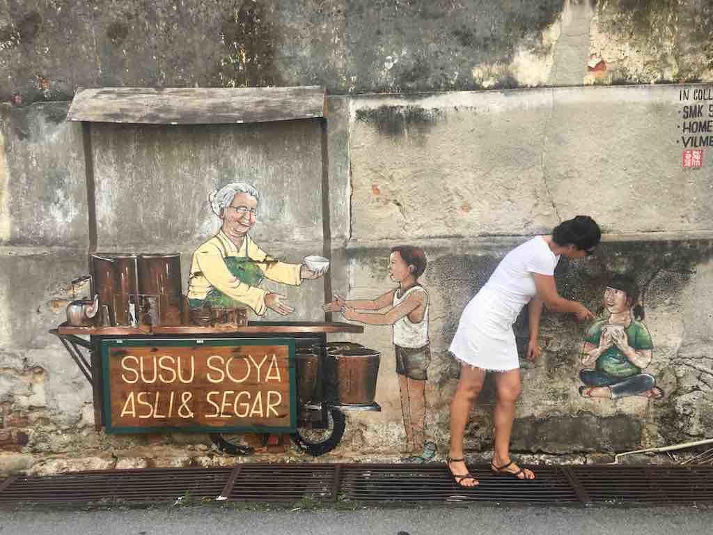 Street Art Penang