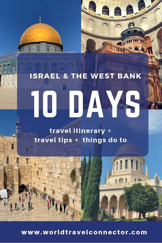 Israel travel blog