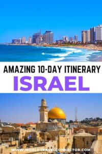 10 day Israel itinerary