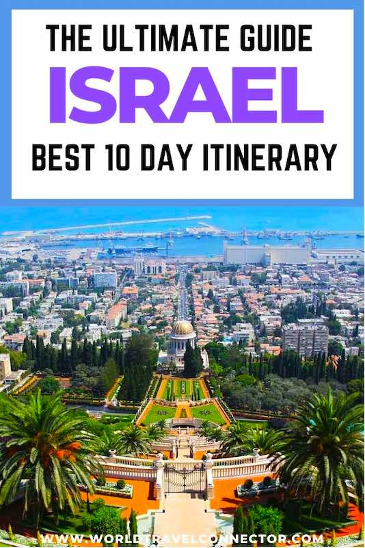 Best 10 Day Israel Itinerary