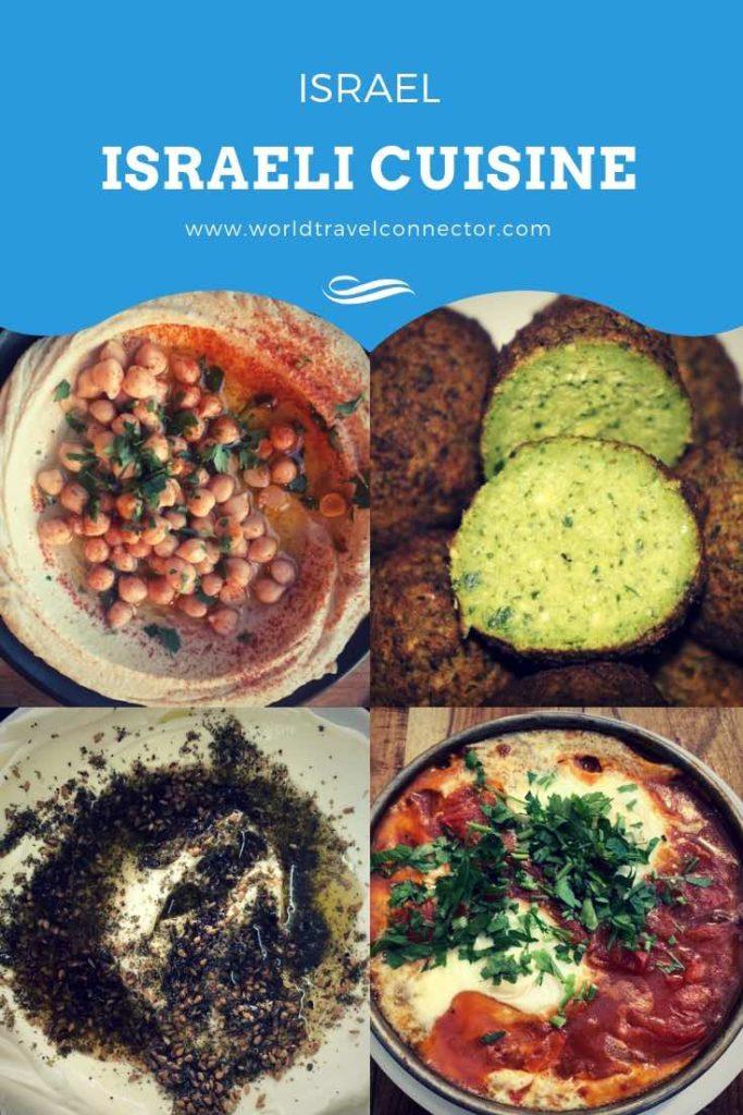 Popular Israeli food are Hummus, falafel, shakshouka, tahini, Israeli salad, tabbouleh, labneh, Israeli stuffed vine leave