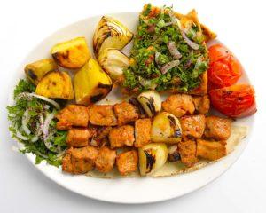 Kebab is popular food in Israel