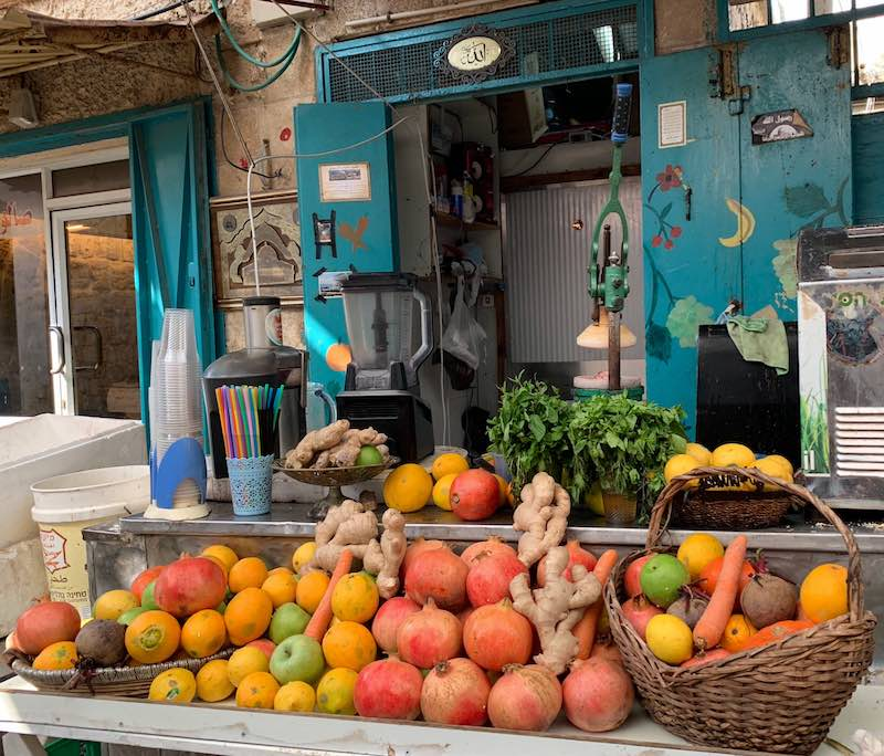 Fruits are popular food in Israel