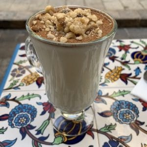 Sahlab is popular beverage in Israel I Israeli food  I Most Popular Food in Israel I Famous Israeli Food I Best Israeli Dishes  I Food from Israel I Top Israeli Foods I Israeli cuisine #Israel #Food #Dishes #Traditional #MiddleEastern #Cuisine #best #Foods