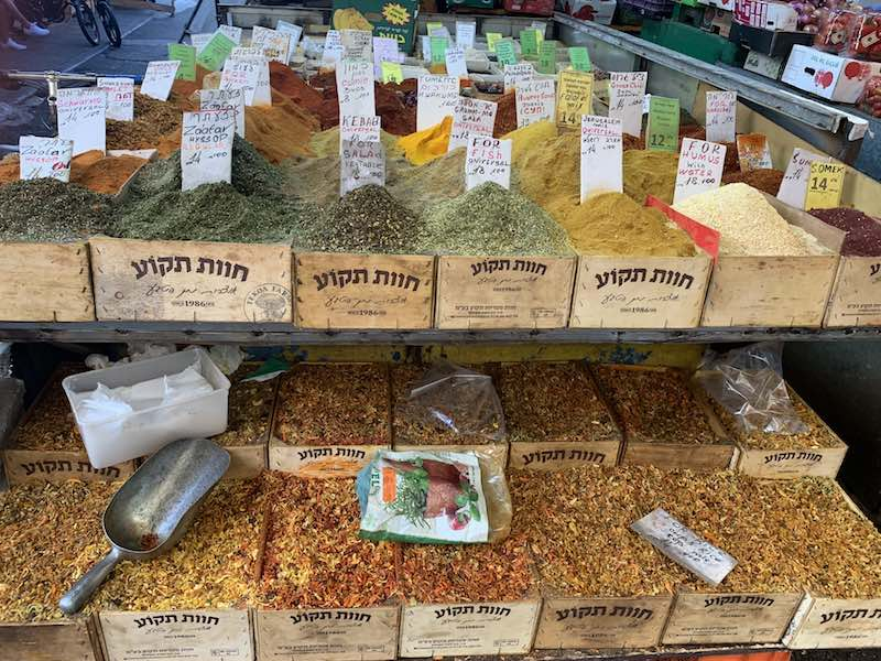 Spices in Israel
