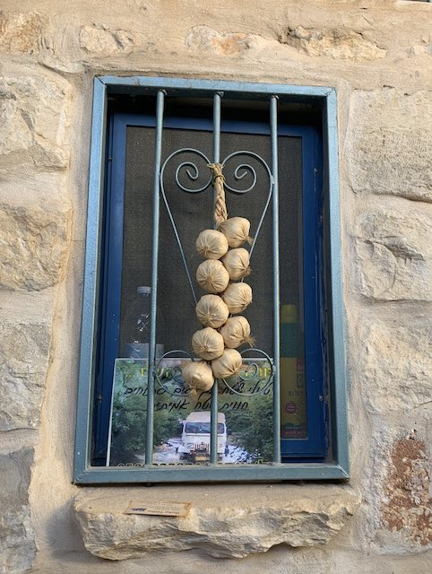 A window in Safed