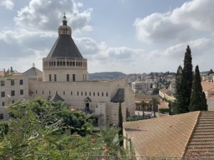 The Basilica of the Annunciation in Nazareth is one of the most popular holy sites in Israel