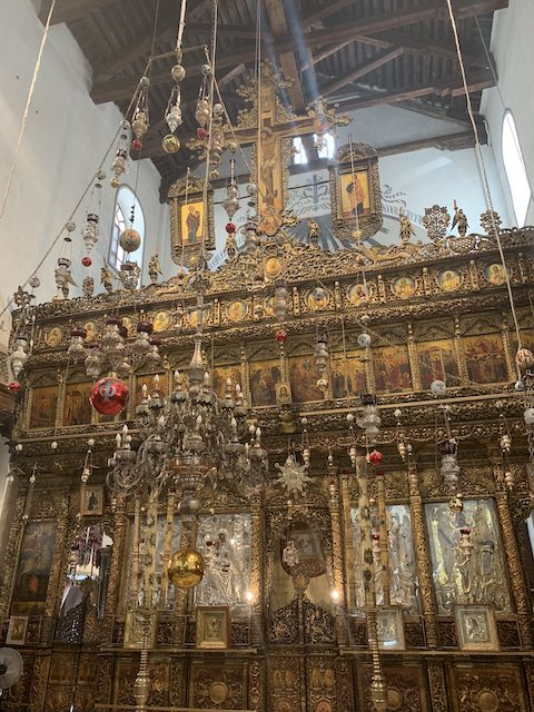 The Church of the Nativity in Bethlehem is one of the most popular holy sites in Israel