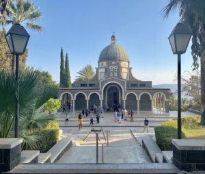 The Mount of Beatitudes is one of the most popular holy sites in Israel