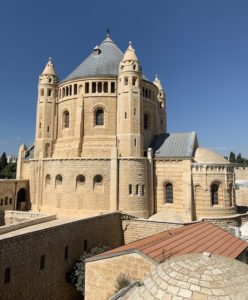 The Church of Dormition in Jerusalem is one of the most popular holy sites in Israel