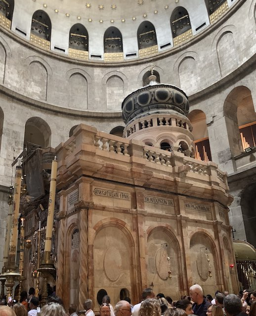 The Church of the Holy Sepulchre in Jerusalem is one of the most popular holy sites in Israel