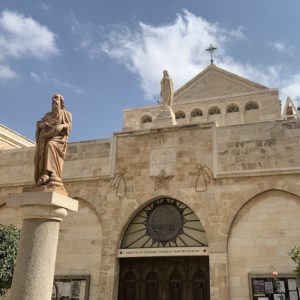 The Church of St Catherine in Bethlehem is one of the most popular holy sites in Israel