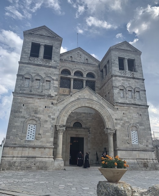 The Church of the Transfiguration on the Mount Tabor is one of the most popular holy sites in Israel