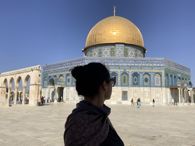Dome of the Rock in Jerusalem is one of holy sites in Israel and the West Bank