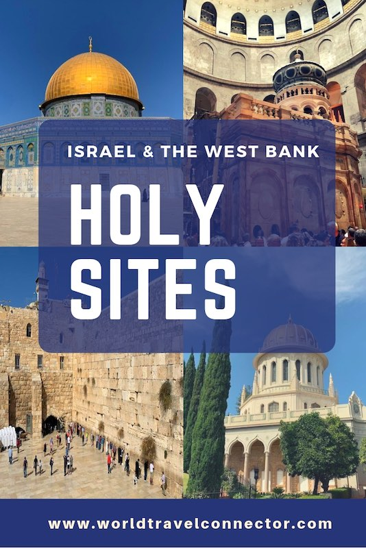Holy sites in Israel and the West Bank