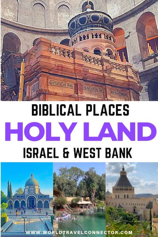 Popular holy sites in Israel