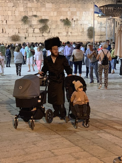 The Wailing Wall is one of the holy sites in Israel
