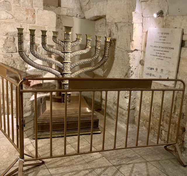 The Tomb of King David in Jerusalem is a Jewish holy place of worship and one of the most popular holy sites in Israel.
