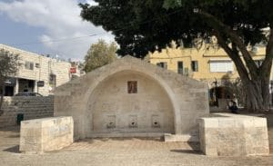 The Mary's Well in Nazareth is one of the most popular holy sites in Israel
