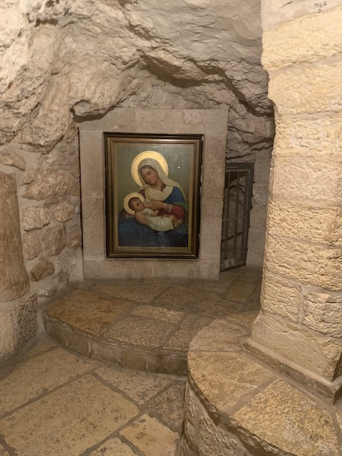 The Milk Grotto in Bethlehem is one of the most popular holy sites in Israel