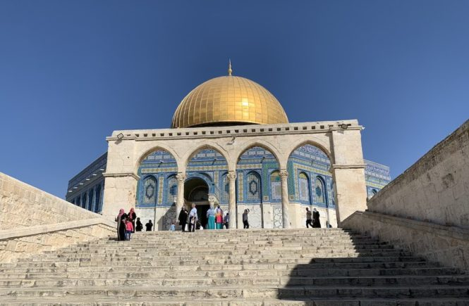 Temple Mount is one of holy sites in Jerusalem