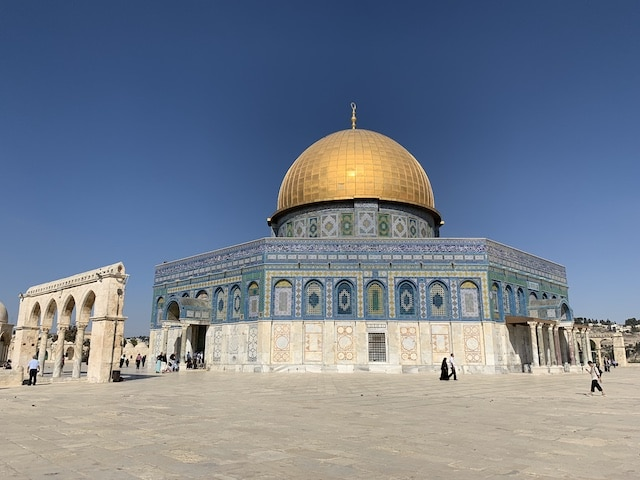 The Temple Mount in Jerusalem is one of the most popular holy sites in Israel.